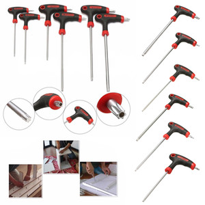 Wholesale allen key for sale - Group buy DWZ pc T10 T Handle Grip Torx Hex Screwdriver Allen Key Wrench Tool