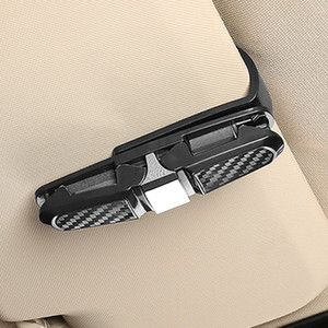 Sun Visor Car Glasses Clip Sunglasses Holder Cases Fastener Cip Eyeglasses Clip Ticket Card Clamp Universal