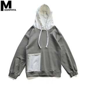 Wholesale mobile phone s resale online - Front Mobile Phone Pocket Mens Hoodies Autumn Hooded Sweatshirts Male Streetwear Pullover Skateboard Hoodie Men