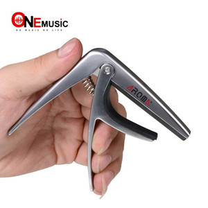 Wholesale capo guitars for sale - Group buy Aroma AC Classic Guitar Capo High Quality Silicone Cushion