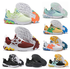 Wholesale React Presto High Quality Men Women Triple Black Prestos Rabid Panda Breezy Thursday Brutal Honey React sneakers Size US