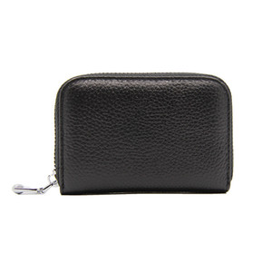 Wholesale Hot Cheap fashion trend men s and women s small wallet business card holder ID credit card of colors black red yellow blue white size