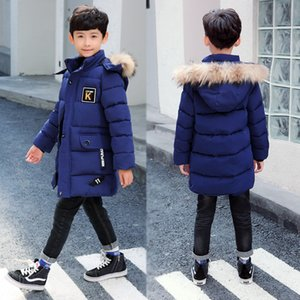 Wholesale 2019 New Winter Clothing Boys Keep Warm Children Autumn Winter Coat Middle Aged Year Pile Thicker Cotton Jacket