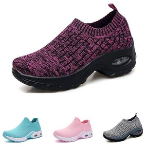 Wholesale hunts products resale online - New Product running shoes for women girl black red pink blue brown win red white sports sneakers Non Brand