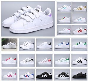 Wholesale Classic Youth Stan Smith Superstar Kids Girls Child Boys Baby Children Shoes Casual Sport Size