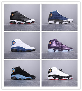 2019 NEW Fashion Cheap Sale High Quality RETRO Jumpman 13 Mens Basketball Shoes Boots Hot Sale Real Sports Sneakers SIZE 40-44