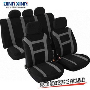 Wholesale DinnXinn 110573D4 Hyundai 9 pcs full set sandwich car seat cover universal trading from China