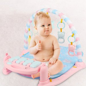 Wholesale Baby Play Music Mat Carpet Toys Kid Crawling Play Mat Game Develop Mat With Piano Keyboard Infant Rug Early Education Rac