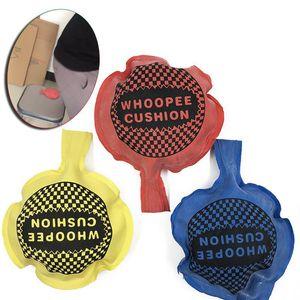 Funny Sponge Ring Fart Bag Pad Trick Natural Rubber Fart Bag Spoof Prank Artificial Jokes Fart Bag Spoofing Toys for Children Trick Props