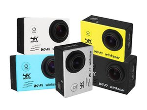 Wholesale SJ8000 Ultra HD K Sports Camera LCD m Waterproof WIFI Action Camera HD outdoor sports camera Multicolor
