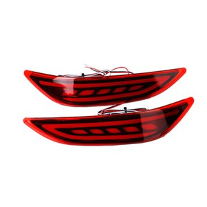 Wholesale Car LED Rear Bumper Reflector Light For Honda City LED Parking Warning Stop Brake Lamp Tail Lanter universal fog lamp