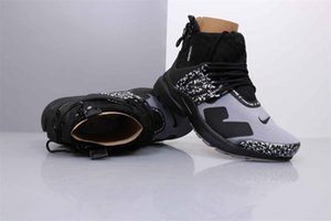 Best quality ACRONYM X Presto Mid V2 Running Shoes Mens Yellow Black White Darts Street Sneakers Womens Camouflage Graffiti Boots 0920114