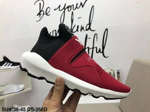 Wholesale 2019 Release Futurecraft Alphaedge D Asw Y Runner Y3 jogging Shoes Mens designer casual designer red black with white Shoes size36