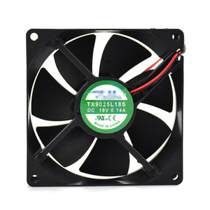 For TIANXUAN TX9025L18S 18V 0.14A 90*90*25mm Refrigerator thermostat cooling fan