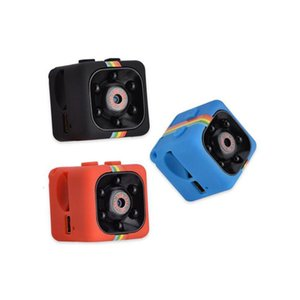 2019 New SQ11 Mini Camera HD 1080P Night Vision Camcorder Car DVR Infrared Video Recorder Sport Digital Camera Support TF Card free DHL