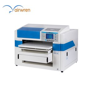 Professional 2019 new A2 size 8 Color directly dtg t-shirt printing printer