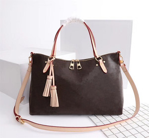 Wholesale women handbag purse real leather for sale - Group buy Original High Quality Designer Luxury Handbags Purses Lymington Zipper Bag Women Brand Tote Old Flower Real Leather Shoulder Bags