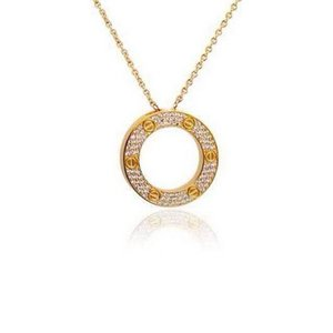 2019 new fashion luxury ring with colorfull diamond Pendant Necklaces suit crystal Decorate Display Frame Stand Show For Women Wholesale