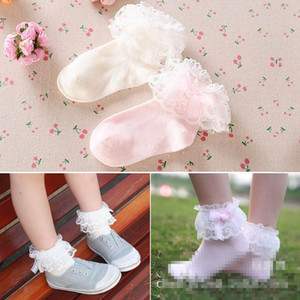 lace pearl Baby Socks Cotton Girls Socks princess socks kids designer clothes girls clothes Kids Sock baby girl clothes on Sale