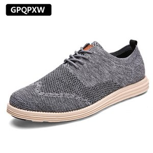 Summer Breathable 2019 Men's Sports Shoes Casual Business Work Shoes Large Size 39-45 Non-slip Wear-resistant Tennis Men's