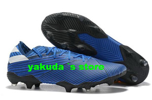Wholesale best leather football boots for sale - Group buy 2019 Men s Nemeziz Messi FG Soccer Shoes trainers athletic best sports running shoes for men boots Football Training Sneakers Cleats
