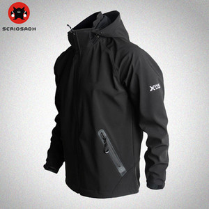 Outdoor Sport Softshell Jackets Mesh Breathable Windproof Waterproof Jacket Camping & Hiking Men Fleece Trekking Jacket