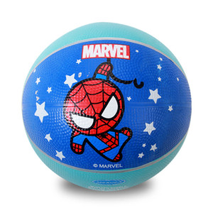 Wholesale 7-Inch Mini Cartoon Basketball Indoor and Outdoor Game Ball Designed for Children to Wear Wear-Resistant Rubber Toy Basketball