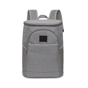 Wholesale 18L Large Capacity Oxford Fabric Backpack Hand Bag Zipper Lunch Tote Ice Pack Insulated Unisex Storage Picnic Wine Cooler