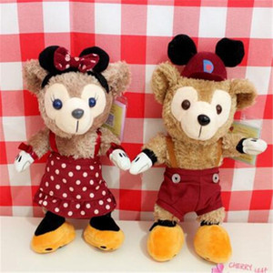 Wholesale Plush Toys Cute Stuffed Animal Bear Japan Duffy Halloween Bear Sydney Pear Cute Plush Toys Size Doll Gift Kids