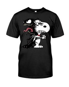 Snoopy Funny Black T-Shirt S-3XL Funny free shipping Unisex Casual Tshirt top