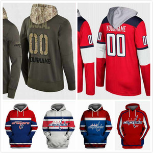 Wholesale Mens Washington Capitals Hoodie Red Player Tom Wilson 43 John Carlson 74 Braden Holtby 70 T.J. Oshie 77 Alex Ovechkin 8 Andre Burakovsky 65