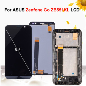 Wholesale 5 Original Display For ASUS Zenfone Go TV ZB551KL X013DB LCD Display Touch screen with Frame Digitizer Assembly Replacement