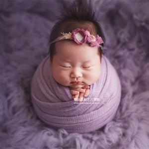 Stretch fabric jersey knit wrap prop Knit Stretch Wrap Denim Stretch Wrap Newborn photography props