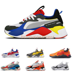 Men & Women RS-X Reinvention Running System White Black Blue Red Yellow Dad Shoes Athletic Fashion Sneakers Jogging Sports Shoes Size 36-45
