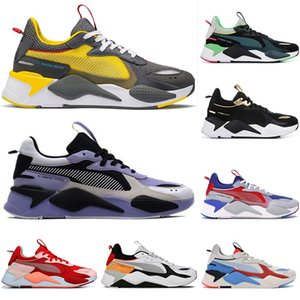 Wholesale 2019 Luxury RS X Toys release Reinvention Running Shoes men women BLUE ATOLL system mens designer trainers casual sports sneakers