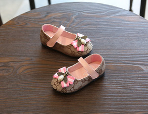 Wholesale and retail Spring and Autumn Girls Shoes Newborn Sports Casual First Walker Shoes Infant Prewalker Princess shoes A15