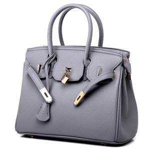 European and American Classic Style Platinum Decoration Luxury Appearance Women Handbags Totes Dress Office Career Purse Shoulder Bags