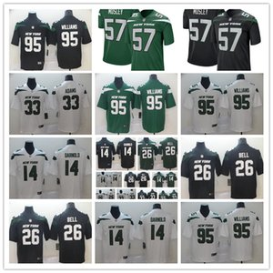 2019 Men's New York 14 Sam Darnold jersey Jets ny women youth kid 33 Jamal Adams 26 LeVeon Le'Veon Bell 12 Joe Namath football jerseys on Sale