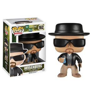 Funko pop Breaking Bad Heisenberg #162 action figure with original box Great Quality and same day shipping on Sale