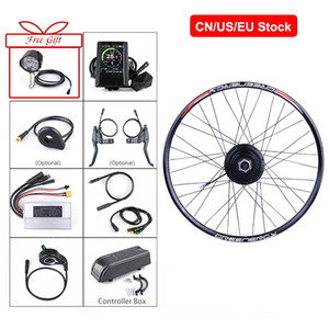 Wholesale electric hubs resale online - Bafang V W Hub Motor Rear Wheel Electric Bike Conversion Kit Kinds of Bicycle quot quot quot C Rear Wheel
