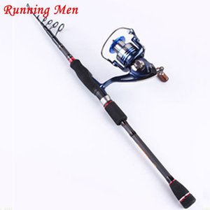 Wholesale black carp New Telescopic Portable Black Carp Carbon Rock Spinning Lure Telescopic Fishing Rod Super hard ultra durable free delivery