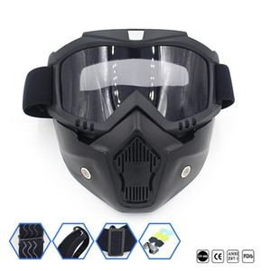 ingrosso disegni bici-Designer Dirt Diart Motorcycle Road Ski Cycling Mask Mask Goggle Bicicletta Face Vehicle Goggles Goggles Motocross wvfbh