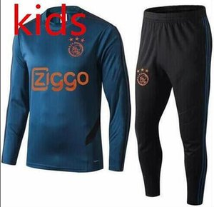 Wholesale KIDS ajax survetement football tracksuits child TADIC ZIYECH DOLBERG Long pants wear ajax kids training suit jacket kit