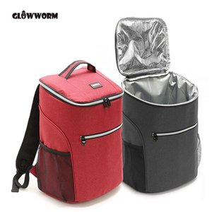 Wholesale 20L D oxford big cooler bag thermo lunch picnic box insulated cool backpack ice pack fresh carrier thermal nevera portatil