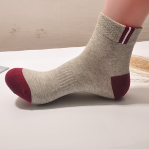 Wholesale Brand New Mens Designer Solid Socks Men Women High Quality Short Sock Mens Teen Sock