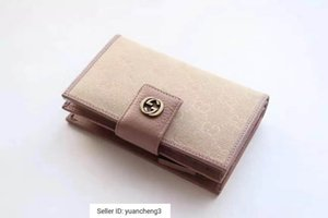 Wholesale yuancheng3 Multi card short clip wallet nude powder Women Long Wallet Chain Wallets Purse Clutches Evening Key Mini Belt Bags