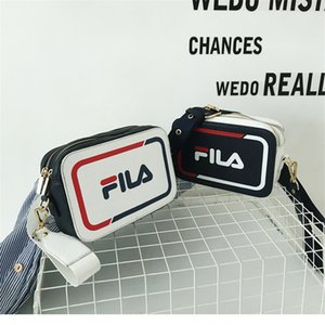 Wholesale INS Style Shoulder Bag with Print Logo Tide Brand Crossbody Bag for Ladies Fashion Women Bag for Outdoor Sports