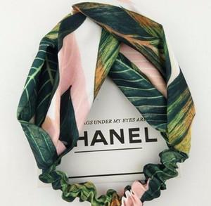 Summer Bohemian Style Hairbands Print Headbands Women 2019 Cross Knot Bandanas Women Hair Accessories