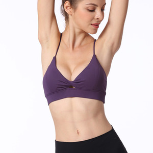 lulu women's sexy sling style bra yoga bra beauty back design free post (1pcs) can be customized logo