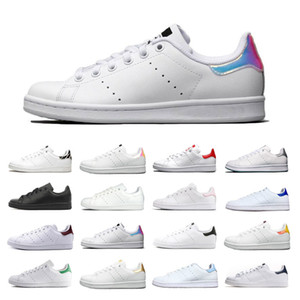 Wholesale New Smith Casual Shoes Mens Womens Training Runners Designer Raf Simons Stan Smiths leather Shoes Sneakers Silver Yellow All Colors